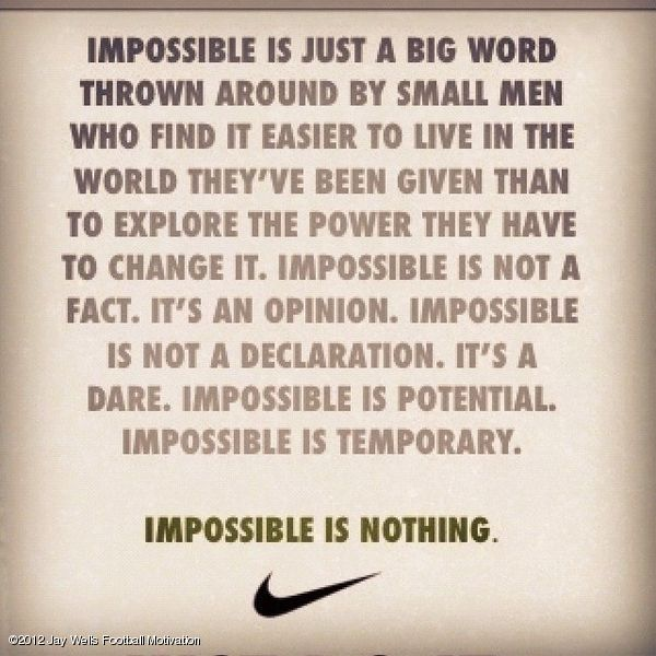 Motivational sports quotes nike soccer