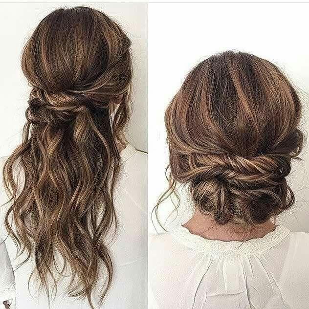 Wedding day hairdo