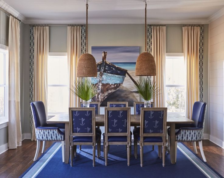 Best 25 nautical dining rooms ideas on pinterest nautical dining room furniture nautical for Kristin drohan interior design