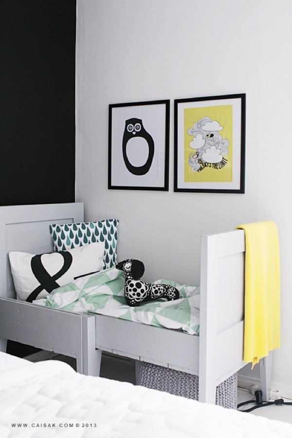 Rafa-kids : Yellow in kids room
