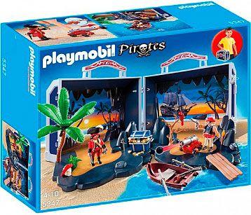 Playmobil 5347 пираты пиратский сундук с сокровищами