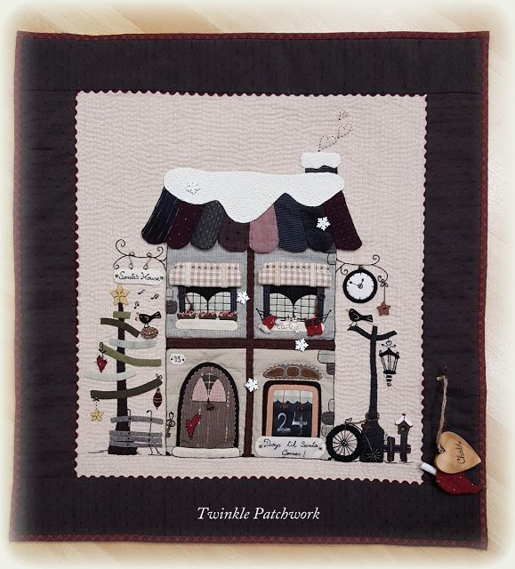TWINKLE PATCHWORK: 24 DAYS TILL CHRISTMAS