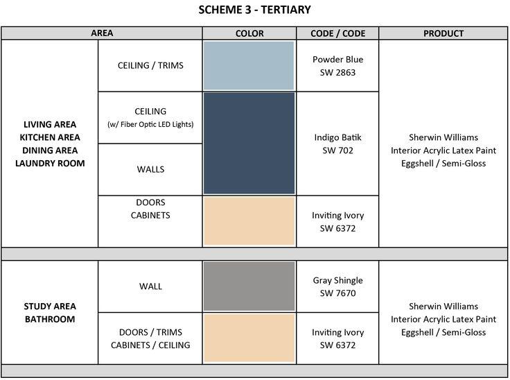 assignment 6 scheme 3 tertiary interior in 2019