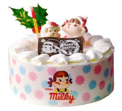 ペコちゃんを食べるクリスマス、「ミルキークリスマスケーキ」がネットショップ限定販売!
