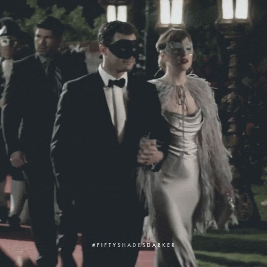 Masquerade Ball | Fifty Shades Darker | In theaters February 10, 2017