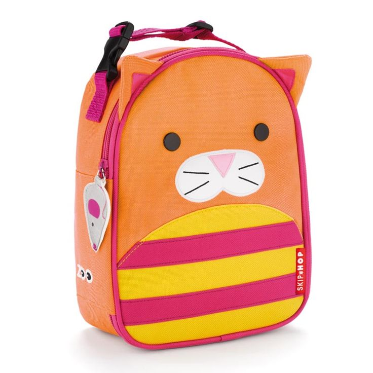 Skip Hop Zoo Lunchies Insulated Lunch Bags Cat by Skip Hop  sc 1 st  Pinterest & 107 best Bags images on Pinterest | Lunch boxes Backpacks and Box bag Aboutintivar.Com