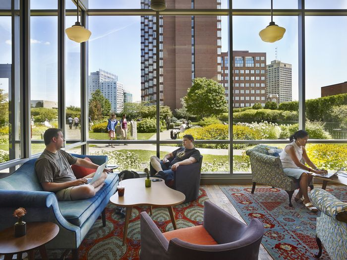 interesting office spaces. office tour google offices u2013 cambridge interesting spaces
