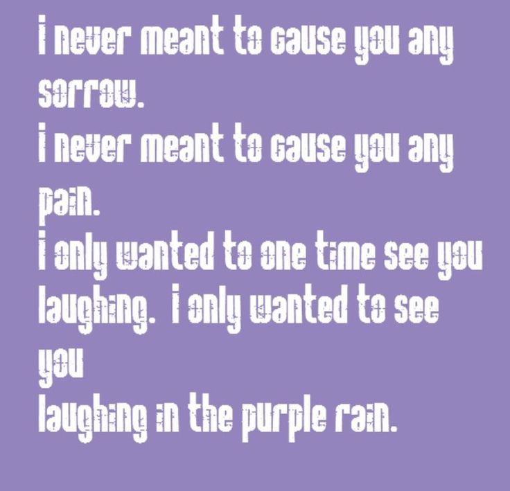 Prince - Purple Rain - song lyrics, song quotes, songs, music lyrics, music quotes,
