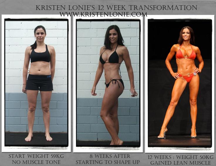 Kristen Lonie S 12 Week Transformation Inspirational