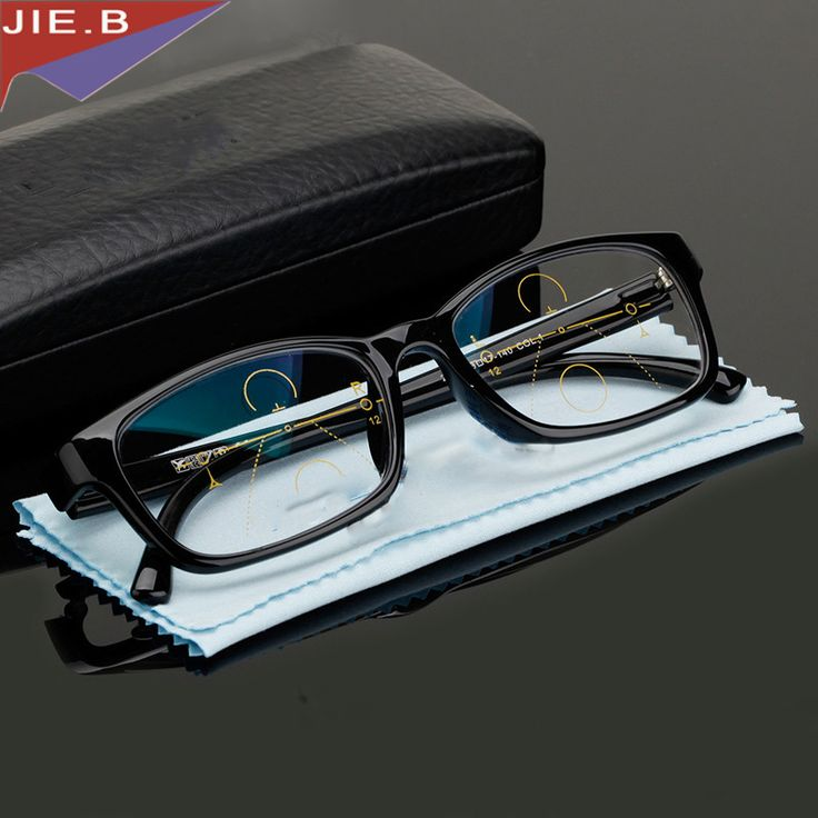 Multi-focal Progressive Reading Glasses Men Women Diopter Presbyopic Eyeglasses Reading Clear Intelligence Multifocal Glasses