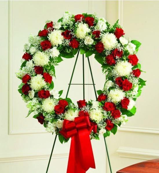 10 best Funeral wreath images on Pinterest | Beerdigung blumen ...