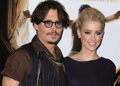 """Johnny Depp and Amber Heard Partner up for """"London Fields""""Joining forces on screen, as well as off, celebrity couple Johnny Depp and Amber Heard are taking to the big screen together!The """"Pirates of the Caribbean"""" star will join his lovely 27-year-old girlfriend for a cameo appearance in her brand n"""