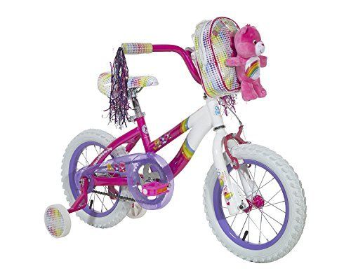 "Care Bears Girls Bike, 14, Pink/White/Purple by Care Bears. Care Bears Girls Bike, 14, Pink/White/Purple. 14""."