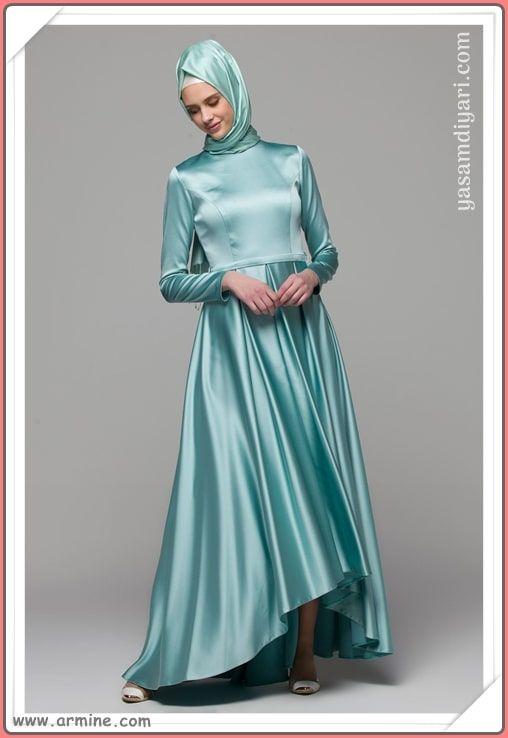d1867c6fb1129 Armine 2019 tesettürlü abiye elbise modelleri tükenmeden sizde yeni  abiyeler arasından seçiminizi yapın. #tesettür #tesettürgiyim #abiye #elbise  ...