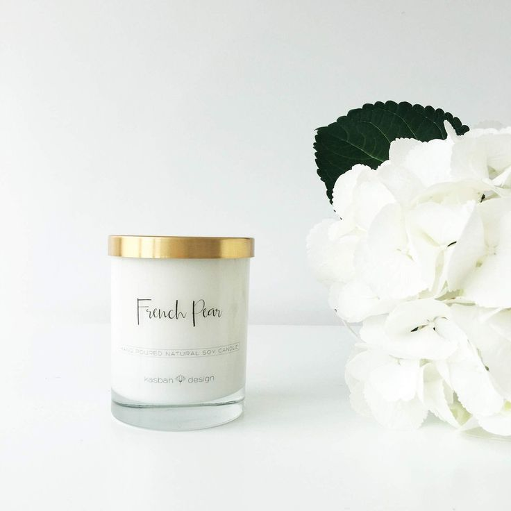 Kasbah Design:Candle:French Pear - Scented Soy Candle
