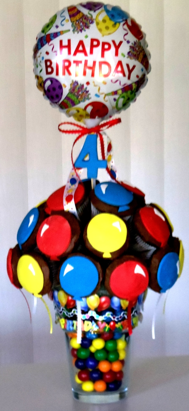 Cupcake Bouquet - Birthday