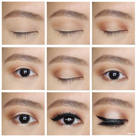 UD Naked Ultimate Basics tutorial | kirei makeup | fall makeup