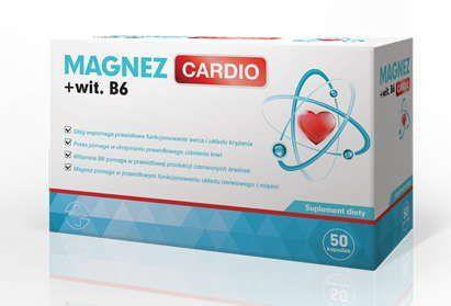 Magnesium CARDIO vitamin B6 x 50 capsules