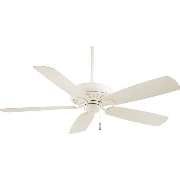 Minka-Aire F532-BNW Sunseeker 60 Inch Brushed Nickel Wet Ceiling Fan