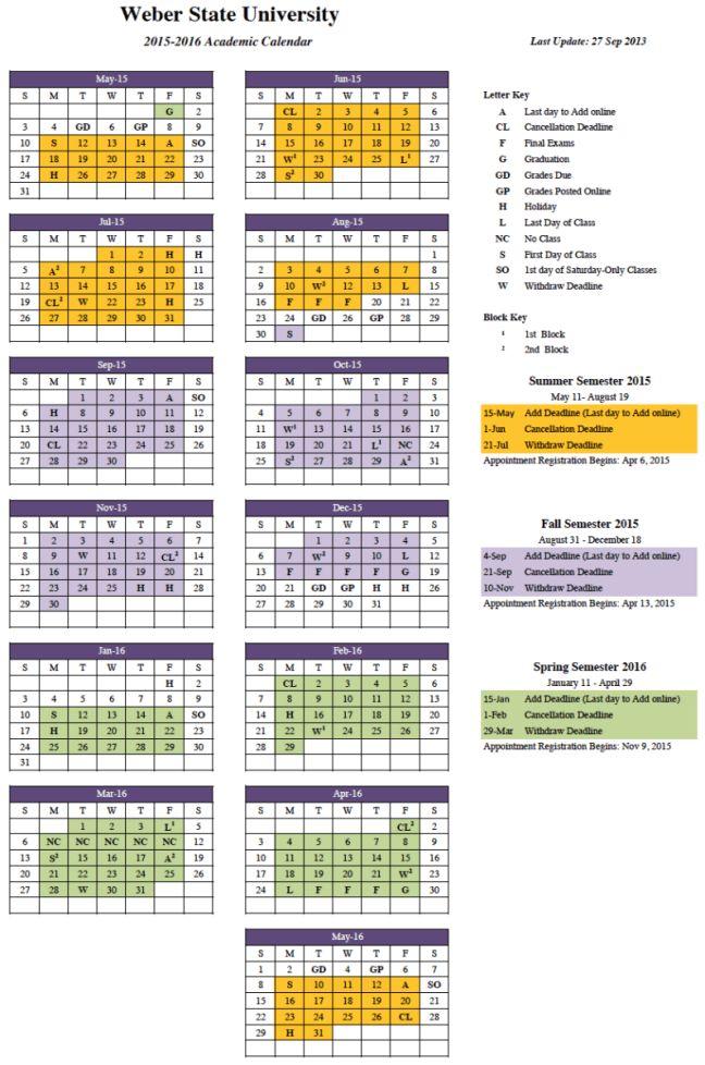 50 best images about Calendar template – Academic Calendar Template