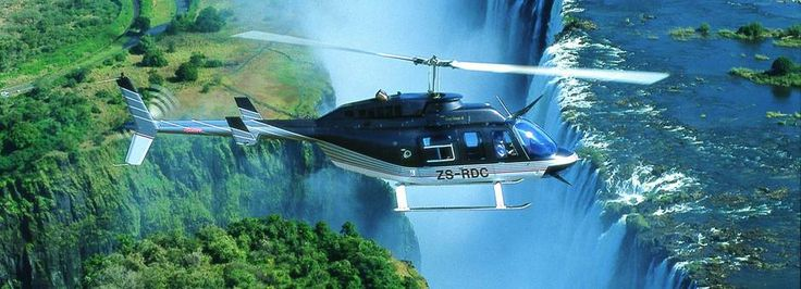 How beautiful is this helicopter of the Victoria Falls! Join us on this incredible adventure! http://www.african-outposts.com/packages/detail/news/victoria-falls-package/