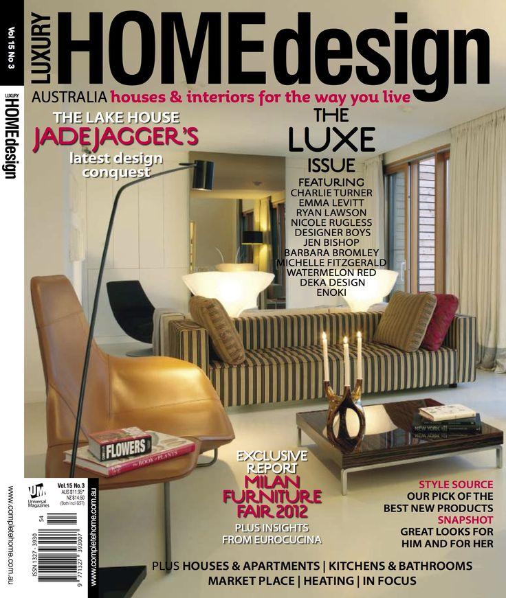 Interior Design Magazine Covers - Google Search | Magazine