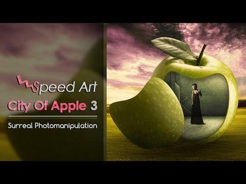 [Speed Art] City of Apple 3 || Surreal Photo Manipulation || #photoshop #editfoto #surreal #surrealism #apple #nyelenehArt #belajarPhotoshop #fotoEdit #abstract #abstractart #conceptualPhotography #fineartphotography #photomanipulation