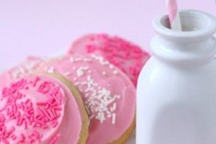 Soft Frosted Sugar Cookies