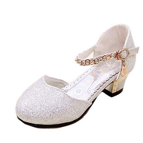 MEXI Festliche Kinder Ballerina Schuhe Kinderschuhe in Glitzerstoff mit breitem absatz Gute Qualität Neueste Design-Mädchen Schuhe Prinzessin Schnee - http://on-line-kaufen.de/mexi-2/mexi-festliche-kinder-ballerina-schuhe-in-mit