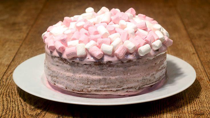 Chocolate Marshmallow Cake Recipe Uk