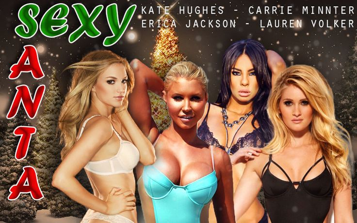 """Promoters and Club Owners!  PLAYBOY MODELS!  I am offering...   The """"Sexy Santa"""" tour features 4 Playboy models;  Carrie Minter Lauren Volker Kate Hughes Erica Jackson   The girls are available to host meet and greets, take pictures with patrons, and of course host a wild party!!   Low all in rates available for the fall.   Inbox me if interested in Facebook"""