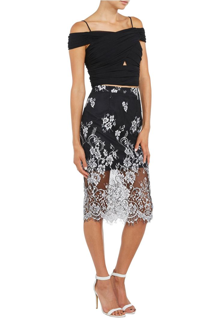 Bardot - Juliette Lace Skirt