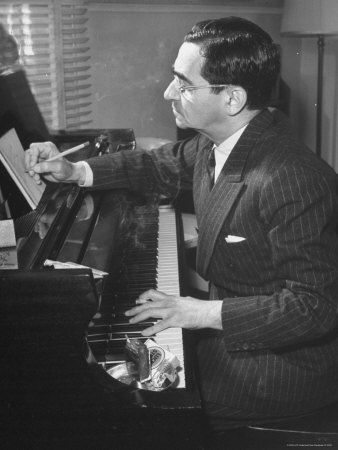 Irving Berlin ... for hearing what we needed to hear ... and then playing it for us. Play it again, Irv!