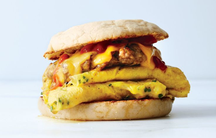 We took some cues from the breakfast sandwich gods at restaurants like Eggslut in Los Angeles, Noble Sandwich Co. in Austin, and The Eastman Egg Company in Chicago to create our version of the ultimate breakfast sandwich. - Bon Appetit Magazine