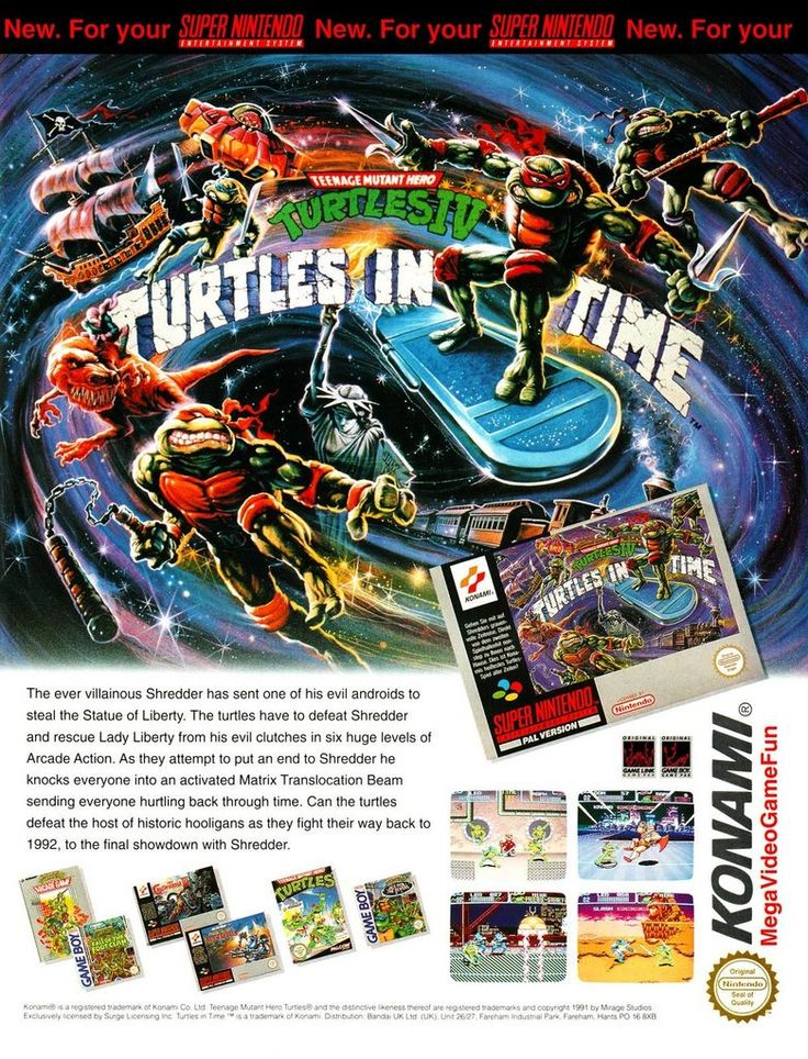 One of the best TMNT games ever!