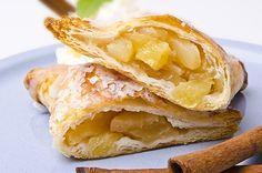 Empanadillas de Manzana con Canela Te enseñamos a cocinar recetas fáciles cómo…