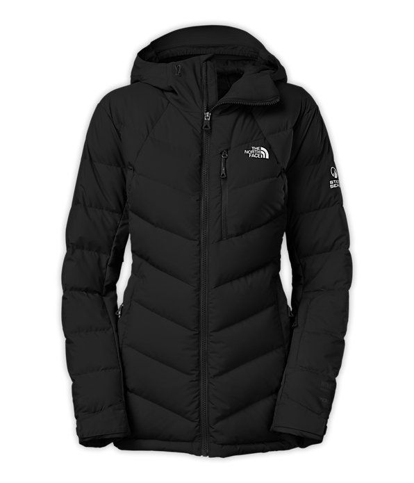 North face goose down jackets womens