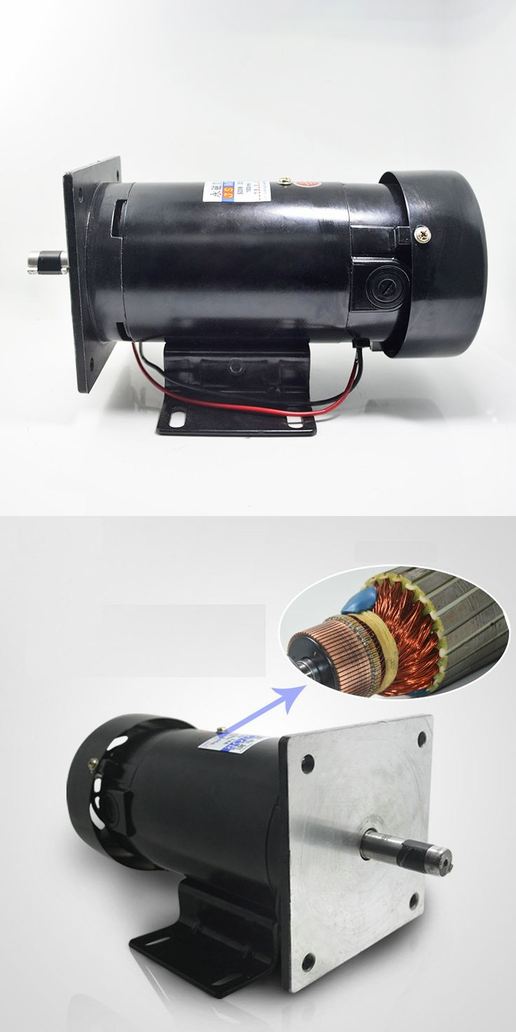 JS-ZYT22 speed permanent magnet DC motor 1 speed motor power 220V / 3600rpm / 500W Power Tool Accessories