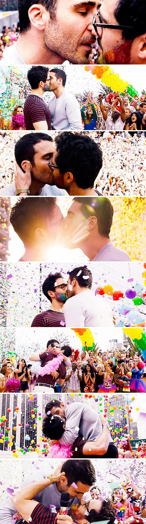 This is Hernando. He is the love of my life. I am a better and braver person because of him. And whatever it costs for me to be able to do this…I know in my heart that it is worth it. #sense8