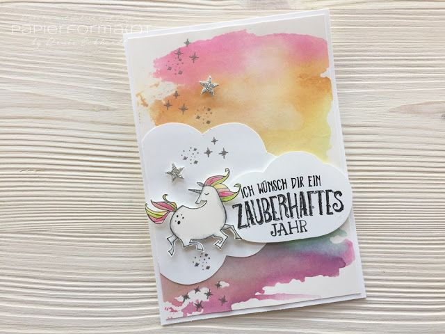 Papierforma(r)t: Zauberhafter Tag - Watercolor Wash
