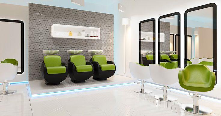 Salon collection Thomas by Ayala salon furniture. Hairdresser salon idea modern style. #Salonideas
