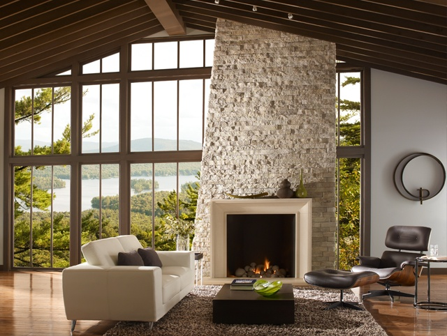 37 best Stone Fireplaces images on Pinterest | Fireplace ideas ...