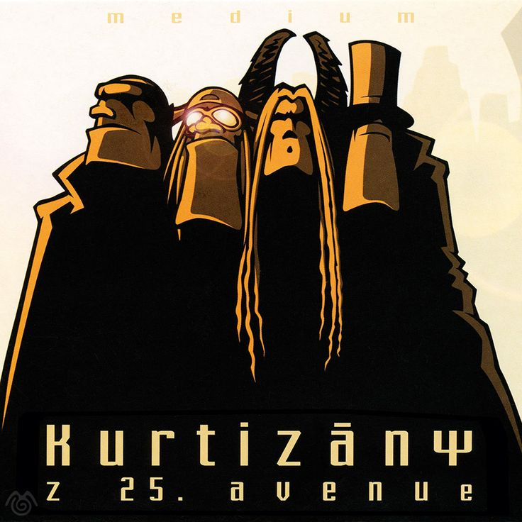 Album artwork by Maťo Mišík www.matomisik.com - Kurtizány z 25. Avenue – Medium  #cdcover #albumartwork #albumart #coverart #k25a #superheroes #illustration #comics