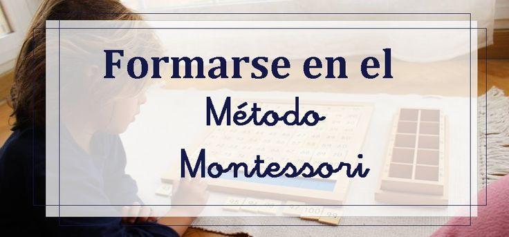 Formarse en Montessori |
