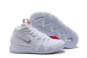 36d372041b2 Top Quality Nike Kyrie 4 EP Love White Men s Basketball Shoes Irving  Sneakers