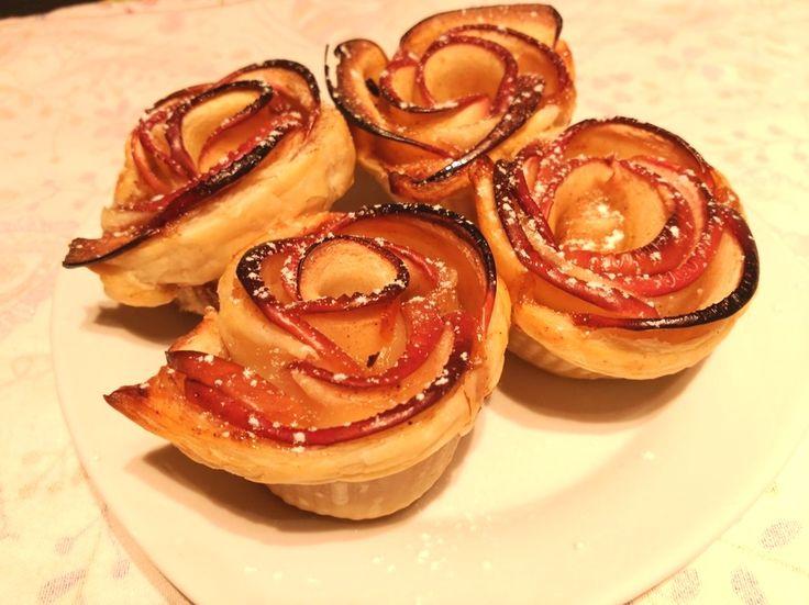 ¡Dale una sorpresa a tu pareja con estas rosas de manzana!