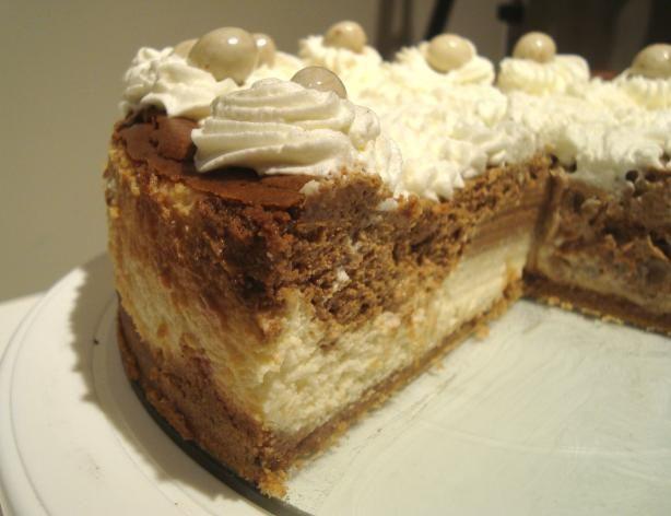 White Chocolate Espresso Cheesecake: Crusts Recipe, Shortbread Crusts, New York Styles, Styles Marbles, Desserts Cheesecakes, Chocolates Crusts, Recipes Desserts, Cheesecake New York, Marbles Cheesecake