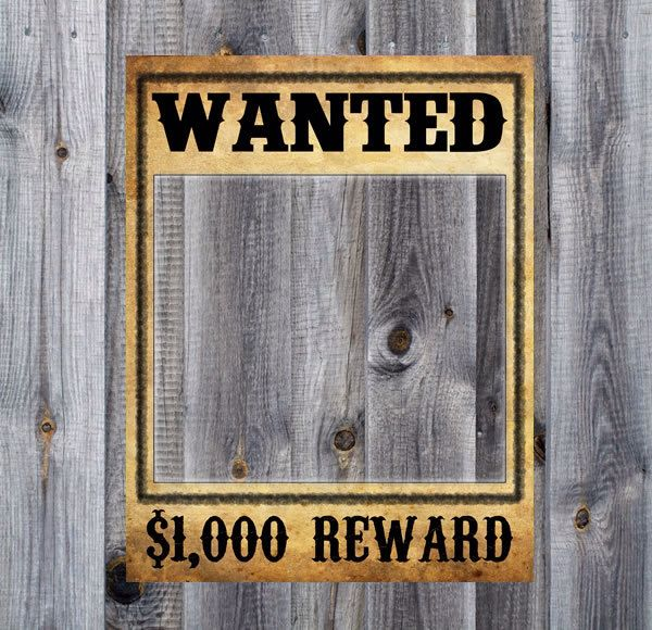 15 best wanted poster images on Pinterest 1920s, DIY and Drawing - free printable wanted poster