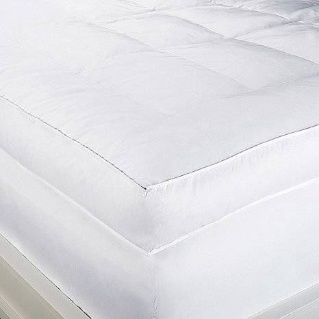 """Concierge Collection 6"""" Feather Bed~ Luxurious & plush~KING SIZE~ 2-yr  warranty #ConciergeCollection"""