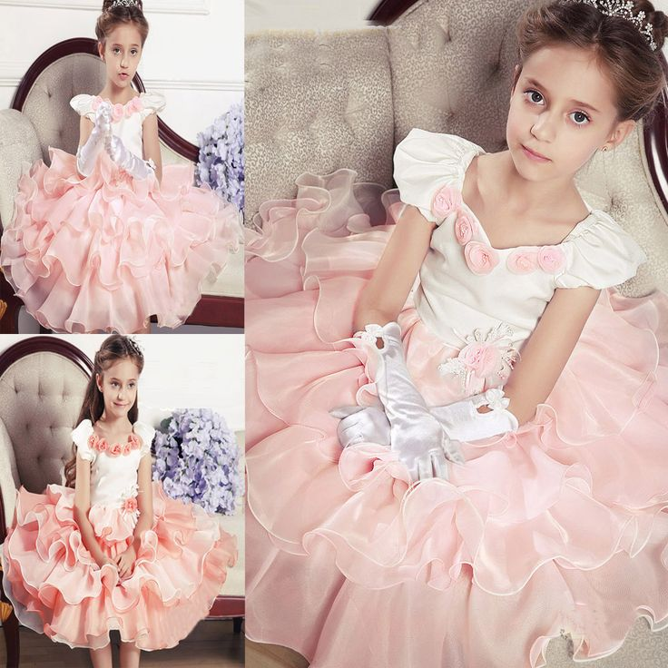 Mejores 36 imágenes de vestidos de fiesta para niñas en Pinterest ...